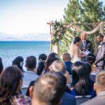 Beautiful day for a wedding at Regan Beach
