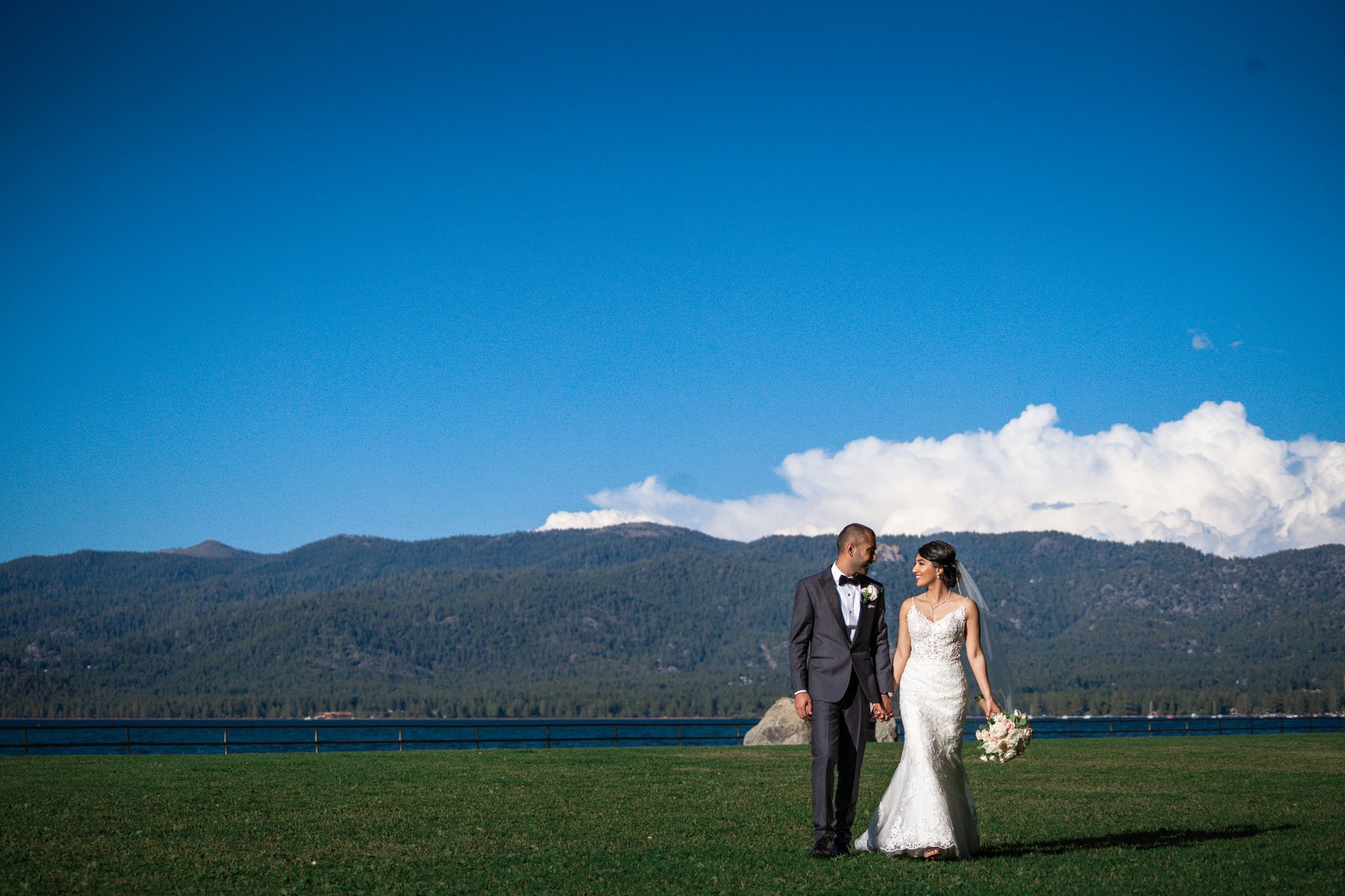 Lake Tahoe Wedding Photographer Starscape Studios at Regan Beach Wedding | Smita + Akash