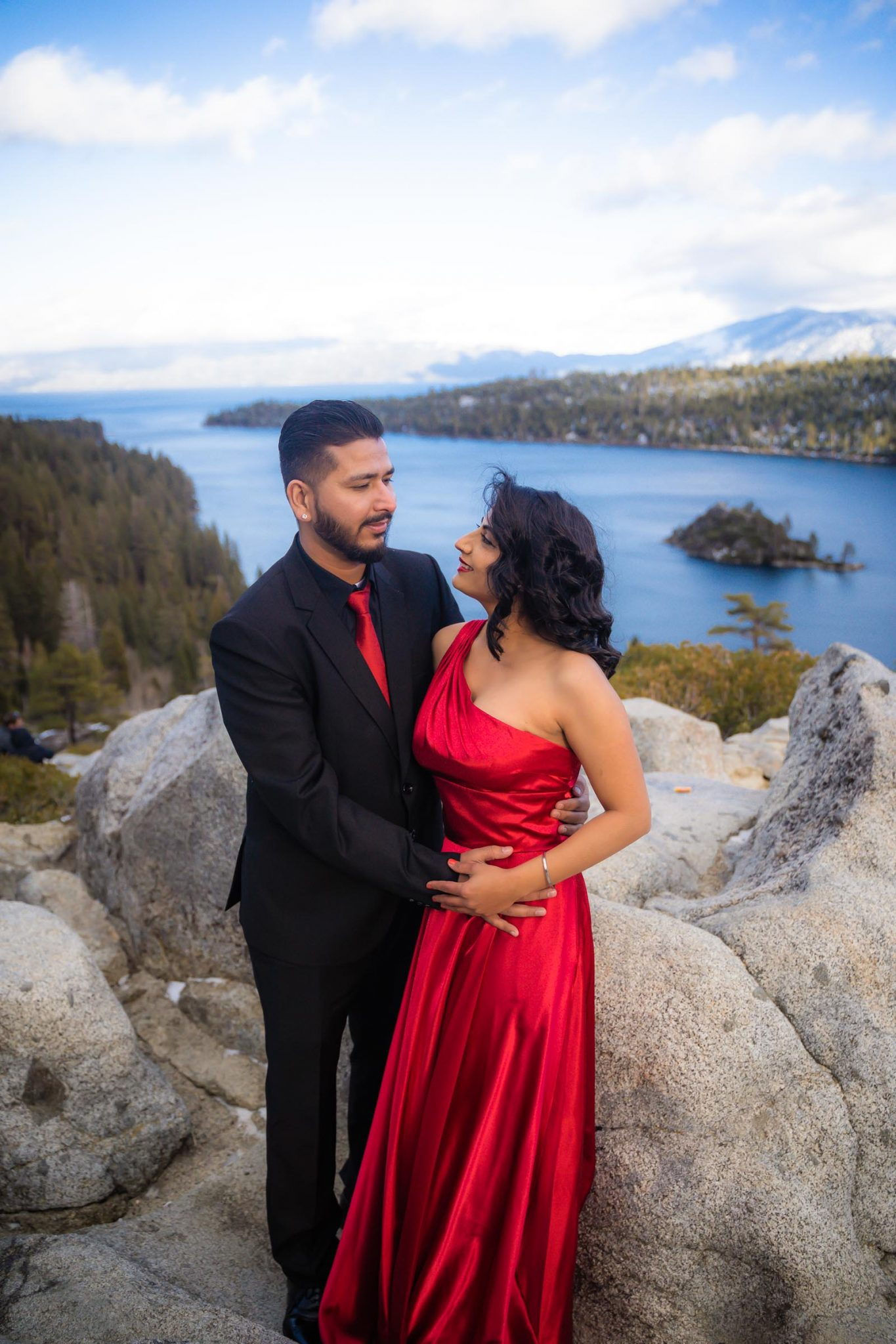 Lake Tahoe Wedding Photographer Starscape Studios at Emerald Bay Engagement Photography | South Lake Tahoe