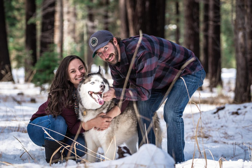 Lake Tahoe Family Photography Session at Fallen Leaf Lake
