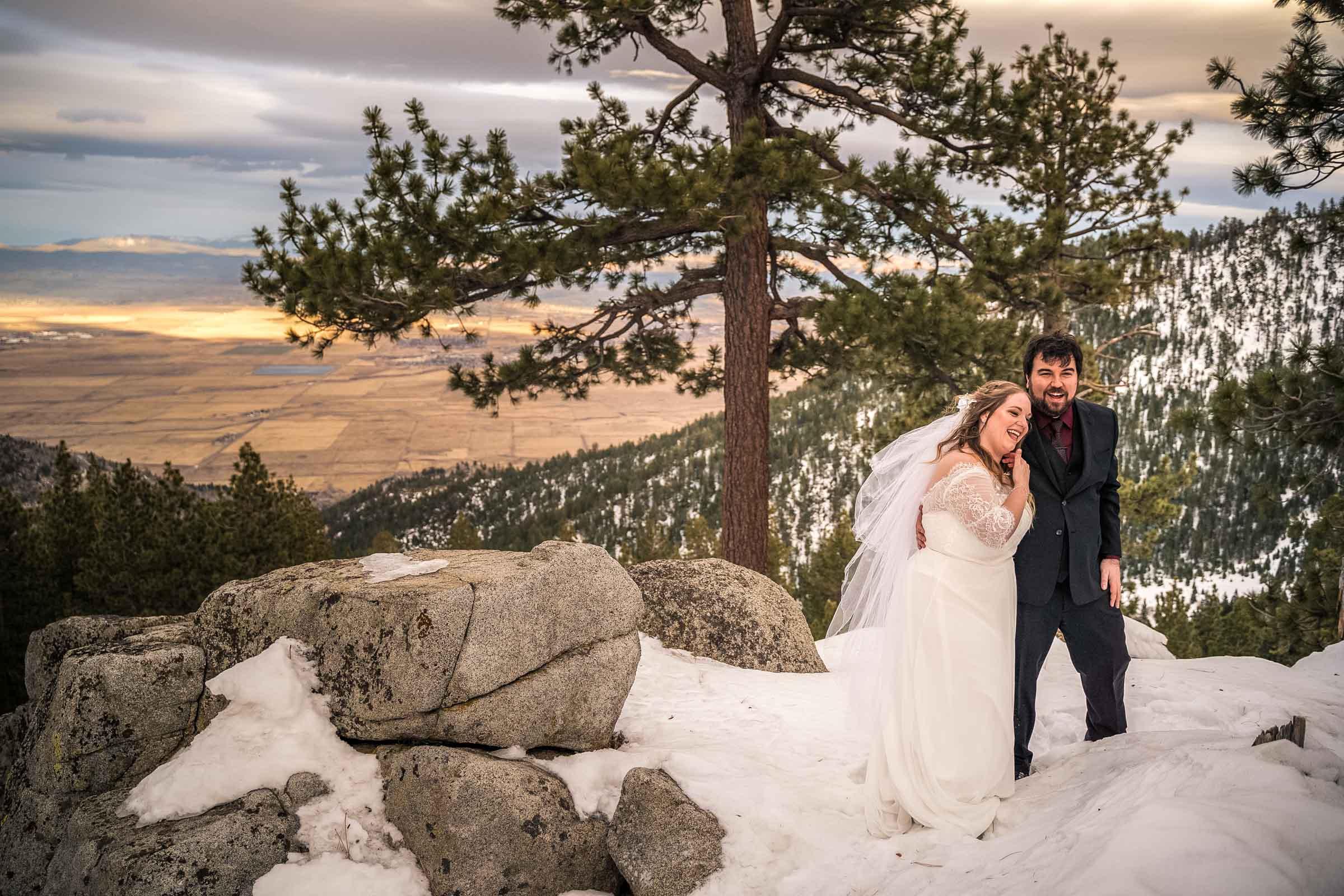 Wedding photos at The Ridge Resort in Kingsbury, Nevada