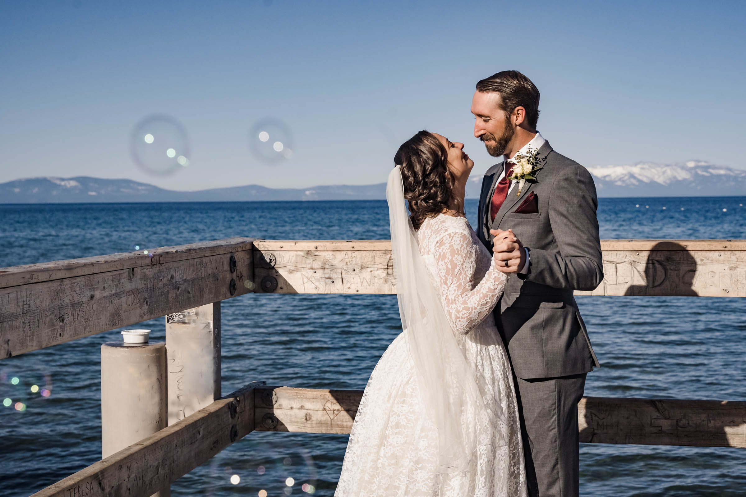 Lake Tahoe Wedding Photographer and Elopement Photography