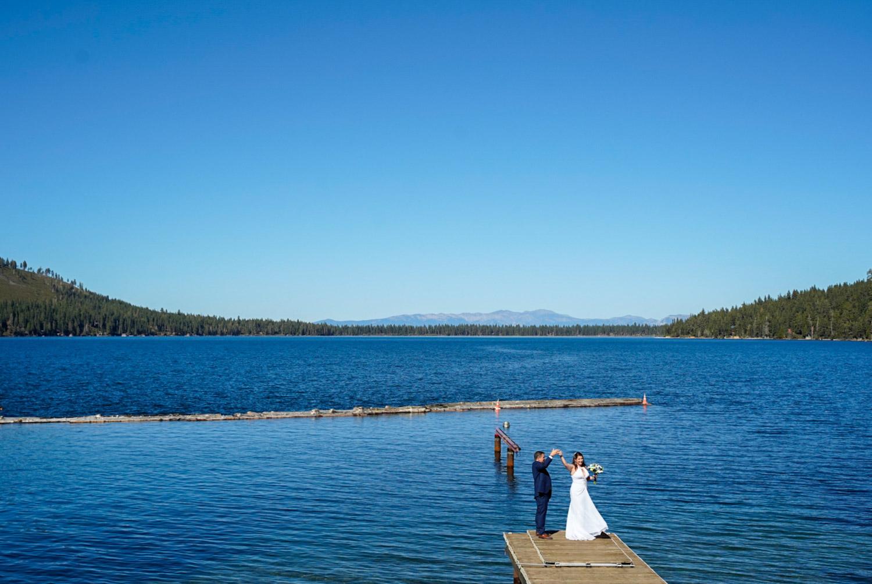 Lake Tahoe Elopement Packages wedding photography at Emerald Bay, South Lake Tahoe California