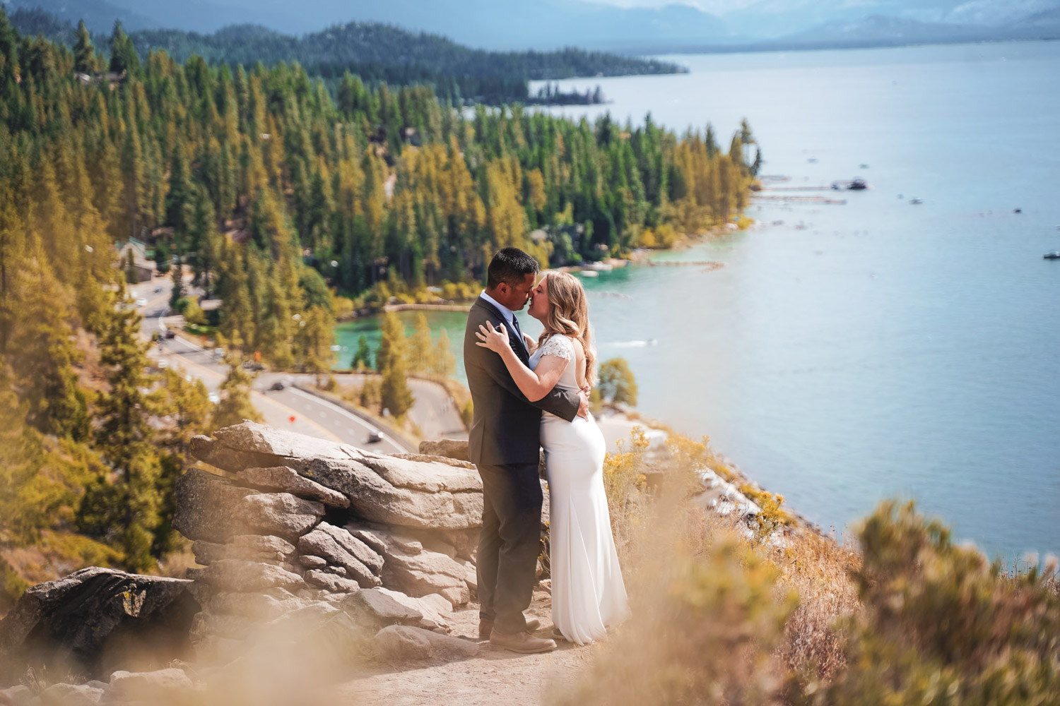 Lake Tahoe wedding packages and elopement photography