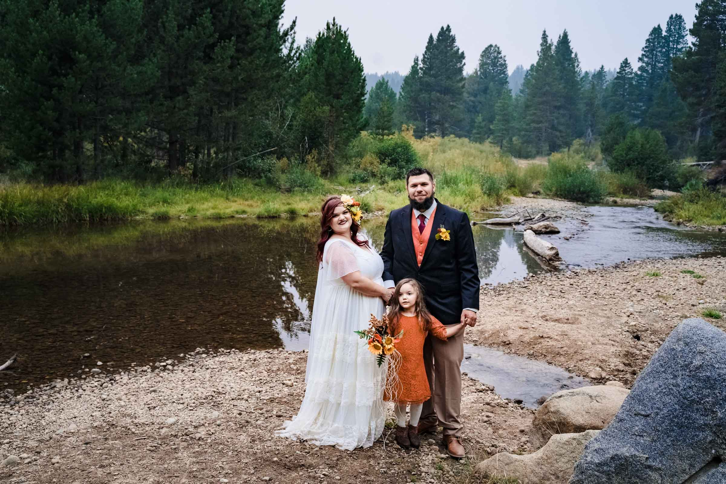 Intimate wedding in South Lake Tahoe